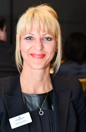 Sabrina Greca, directrice du développement des affaires pour l'Est du Canada de Norwegian Cruise Line.