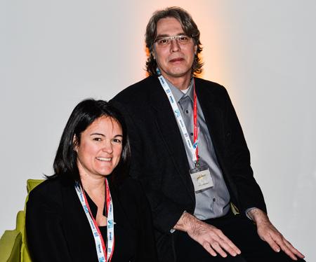 Sylvie Myre, présidente de Voyages à Rabais et François Charbonneau, directeur général