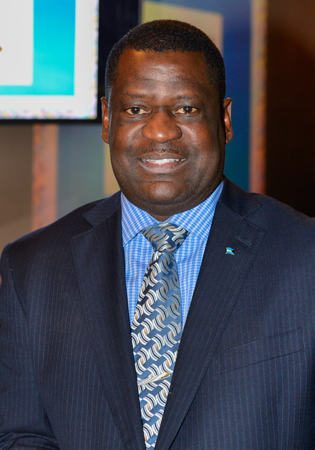 Steven Johnson de l'Office de tourisme des Bahamas au Canada