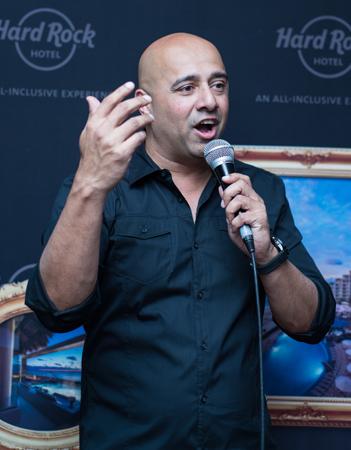 Ash Tembe, vice-président des ventes globales pour Hard Rock