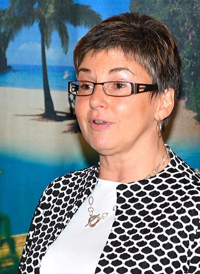 Louise Paquette, directrice de l'Office de Tourisme de la Jamaïque pour le Québec et le Canada atlantique