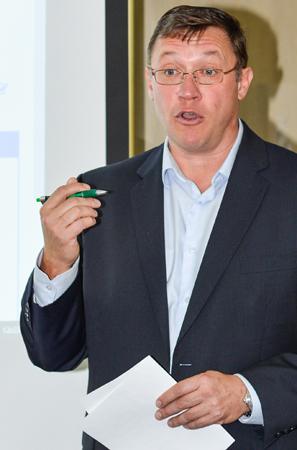 Sylvain Lastère, président du Groupe Atrium