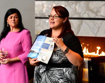 Valérie Lenoir, superviseure au marketing et Nathalie Guay, directrice régionale pour le Québec, présentent Célébrations Romantiques
