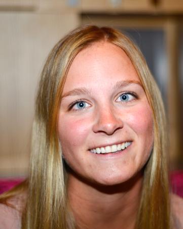 Steffanie Grégoire, première cliente du Club Med Val Thorens