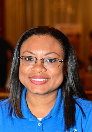 Deborah Gilharry, représentante au bureau de tourisme du Belize