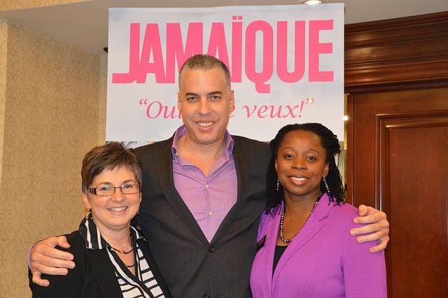 La délégation de la Jamaïque reçoit près de 150 agents à Montréal