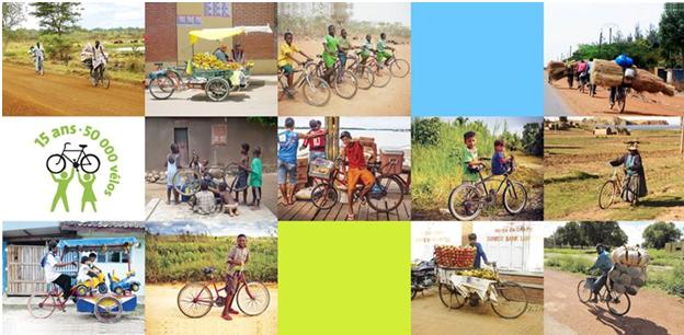 15 ans et 50 000 vélos envoyés pour Cyclo Nord-Sud