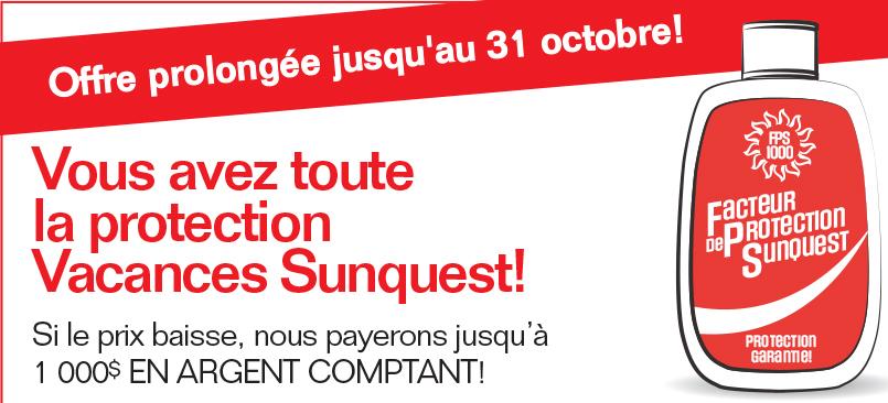 Prolongation de la garantie de prix chez Sunquest