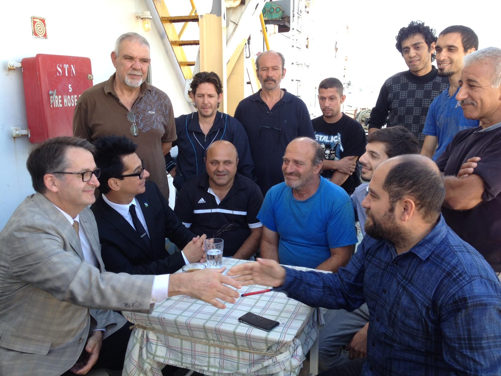 Air Transat offre un billet de retour aux douze marins turcs abandonnés
