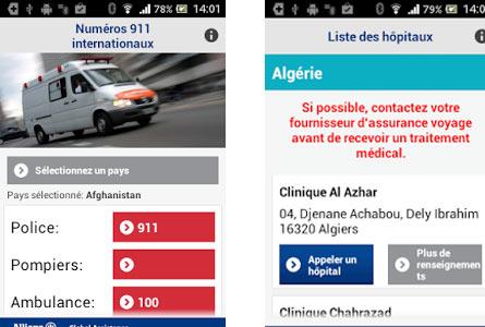 Allianz lance une application d'assistance médicale pour les voyageurs