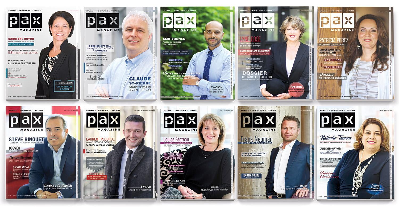 PAX magazine célèbre sa première année