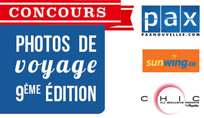Le concours photos Paxnouvelles.com – Sunwing va vous faire voyager