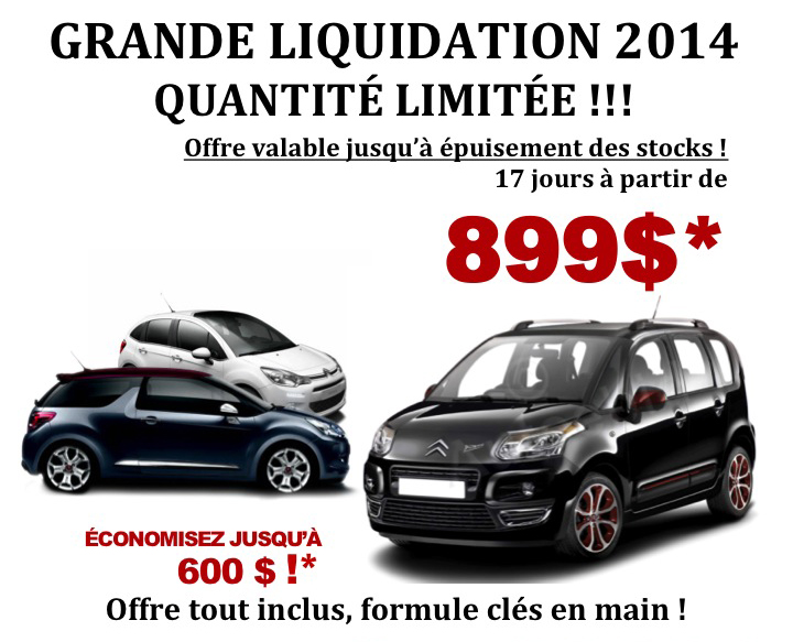 Grande liquidation chez EUROCAR TT