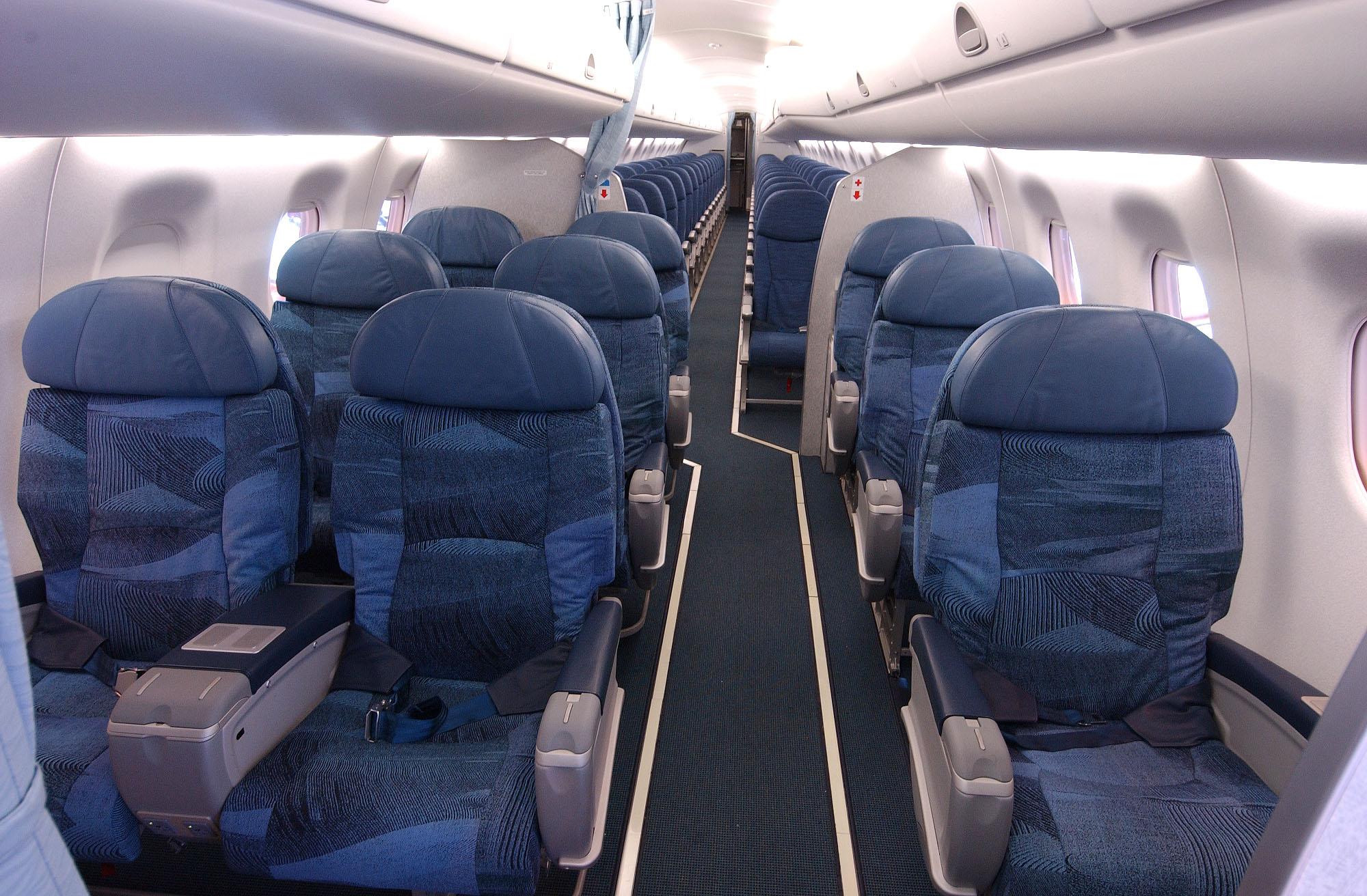 Paxnouvelles air canada plus de places pr f rence sur for Airbus a320 air france interieur