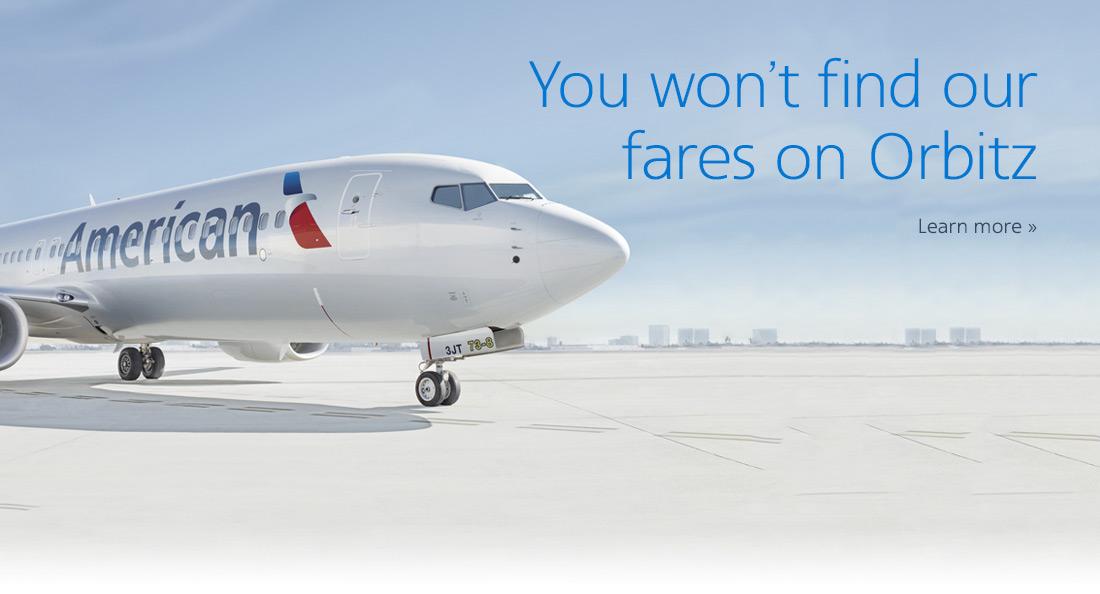 American Airlines fait pression sur les OTA
