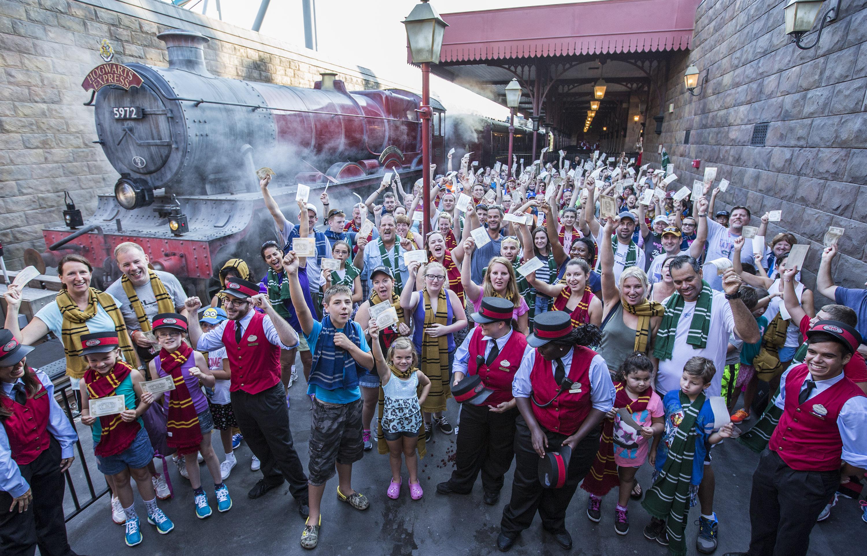 Universal Orlando Resort : un million de passagers pour le train Harry Potter