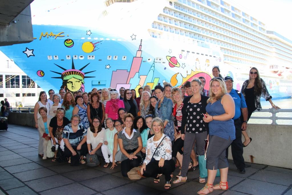 Retour sur la visite de navires de Norwegian Cruise Line à New York avec Tours Chanteclerc