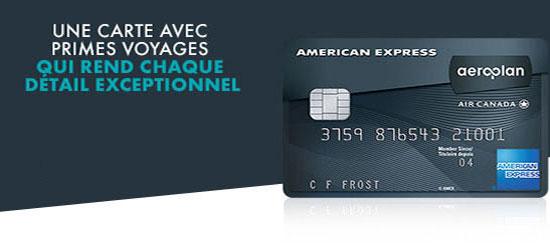 American Express lance la carte Prestige AéroplanPlus