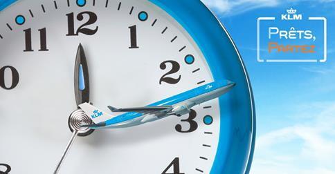 """Offre """"Prêts, Partez !"""" chez KLM"""