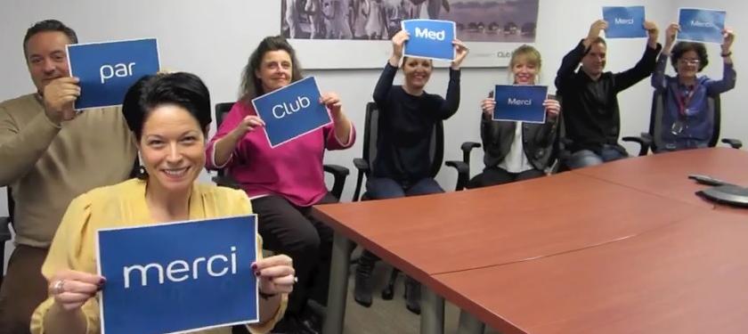 Club Med remercie les agences de voyages en vidéo
