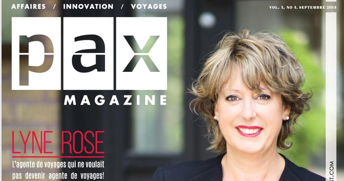L'édition de septembre de PAX magazine est  maintenant disponible