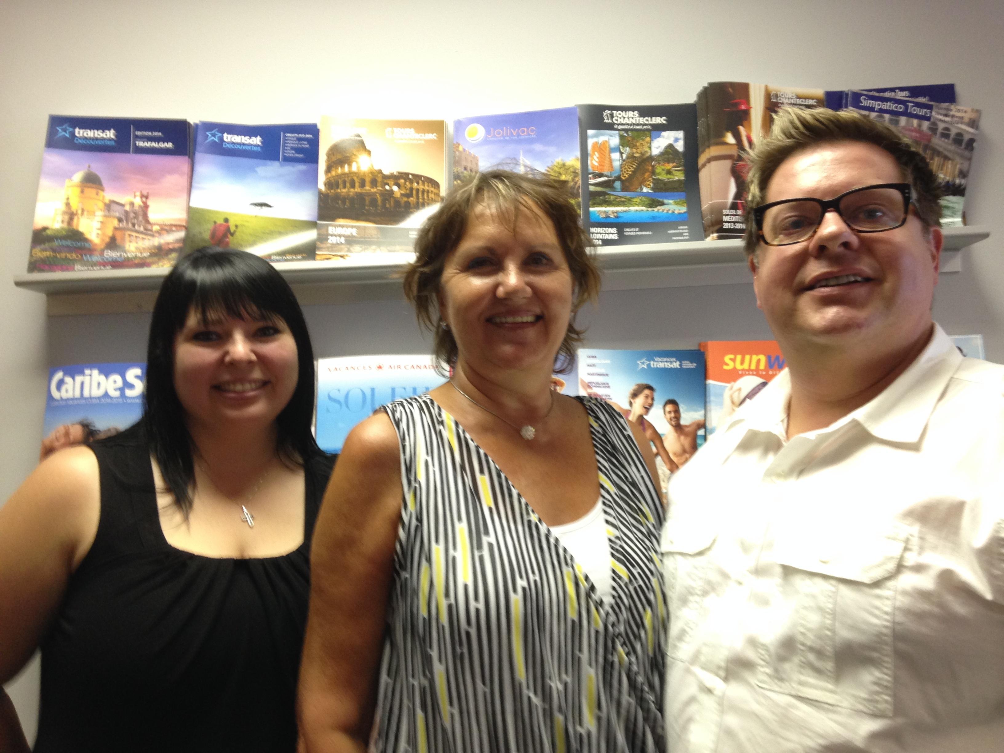 Une troisième agence à Rouyn-Noranda : Voyages Marc Bédard