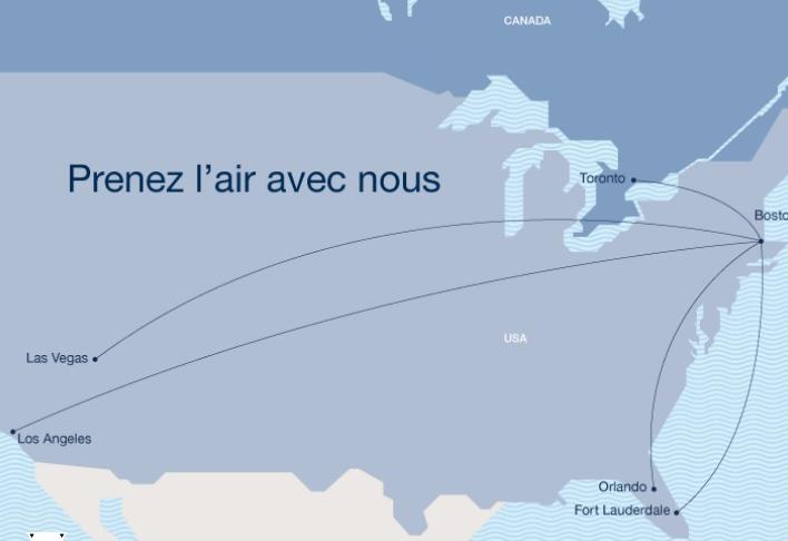 Porter et JetBlue Airways signent une entente intercompagnies