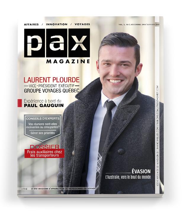 L'édition de décembre-janvier de PAX magazine est maintenant disponible