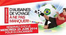 Dernière promotion coupe du monde chez Sunquest