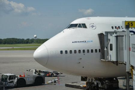 Air France teste l'enregistrement préalable dans Paris