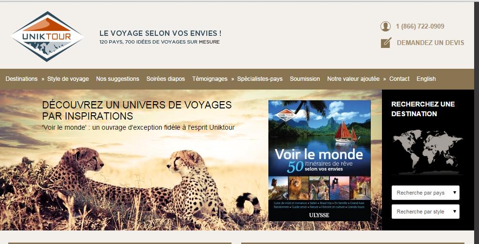 Uniktour souhaite augmenter sa présence à Québec