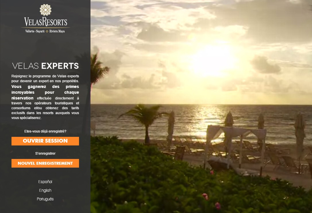 Velas Resorts lance son programme des experts