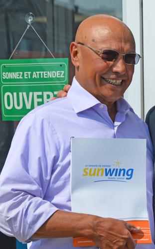 Colin Hunter, fondateur et chef de la direction de Sunwing