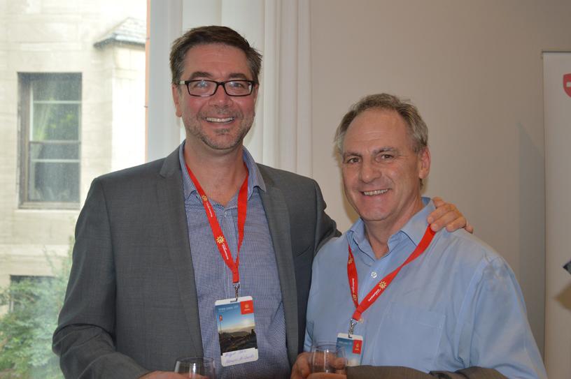 Philippe Blain et Guy Marchand de VAC étaient présents
