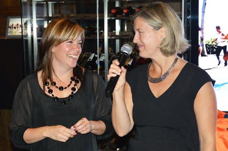 Sophie Lessard, superviseure des ventes et Marie-Josée Carrière, Carrière, superviseure du marketing