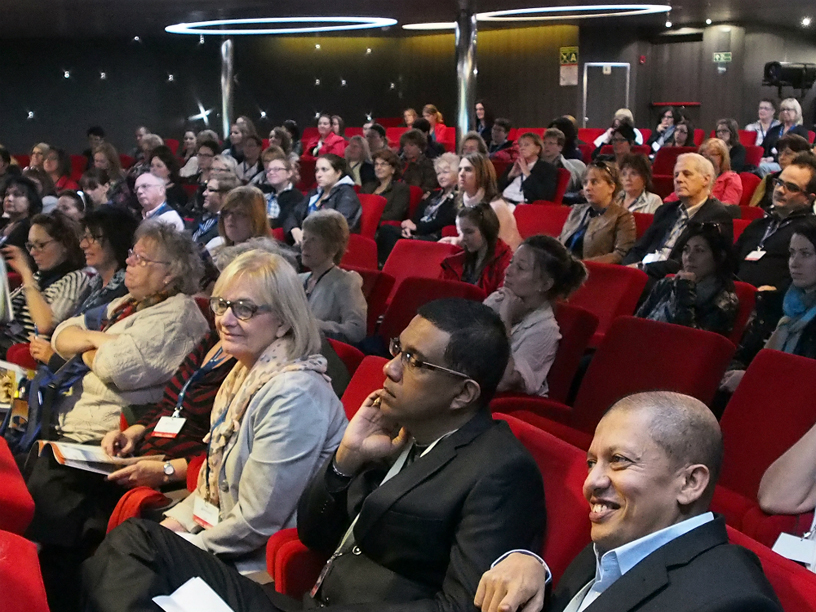 Pas moins de 180 agents ont assisté à la présentation des produits de Transat Découvertes à bord du Boréal.