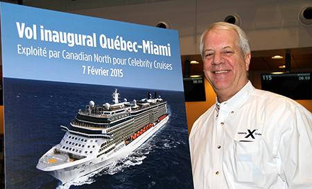 Ken Brooks, directeur des ventes de Celebrity Cruises pour le Canada