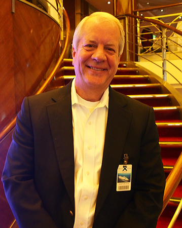 Ken Brooks, directeur des ventes au Canada de Celebrity Cruises