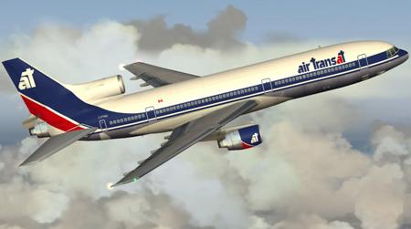 Un Lockheed 1011 d'Air Transat