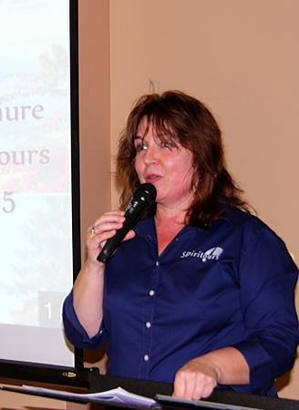 Laurence Maurin, coordinatrice des projets spéciaux chez Spiritours
