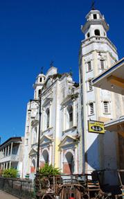 La cathédrale de Jacmel