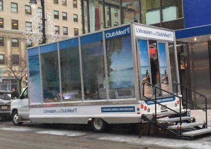 Club Med réchauffe les rues de Montréal avec son Village éphémère