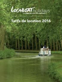 Locaboat Holidays  Tarifs de Location 2016