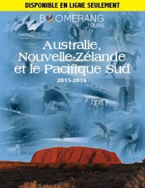 Australie, Nouvelle-Zélande et le Pacifique Sud