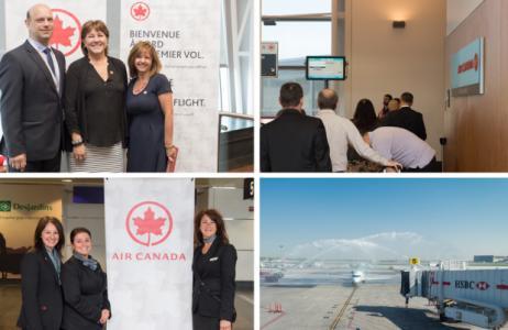Air Canada débute ses liaisons Montréal-Philadelphie et Montréal-Hamilton