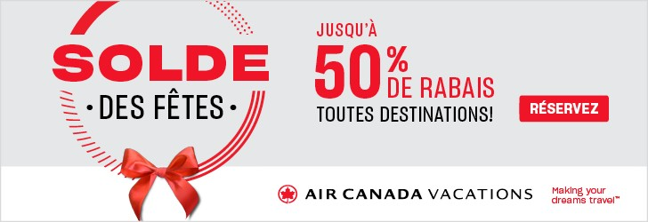 Air Canada Vacations - Footer Leaderboard - Newsletter -Dec 17
