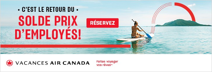 Air Canada Vacations - Footer Leaderboard - Newsletter -Jan 7