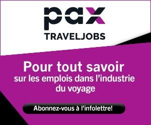 PAX Travel Jobs - Big box (newsletter) - July 16