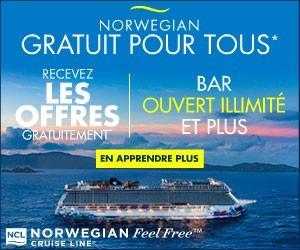 Norwegian Cruises Line - Big box (Newsletter) - Aug 12