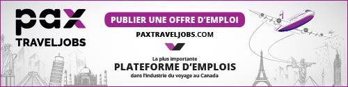 PAX Travel Jobs - Standard banner (newsletter)